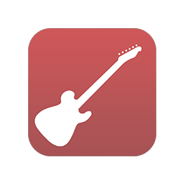 The icon of the Virtual Guitar PRO app