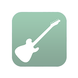 The icon of the Virtual Guitar FREE app