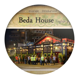 Screenshot of the Beda House website